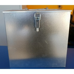 Caja ahumador galvanizada