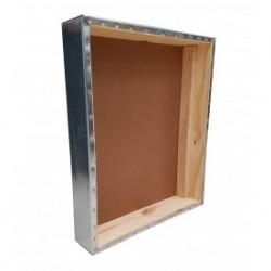 Tapa de colmena chapa y madera