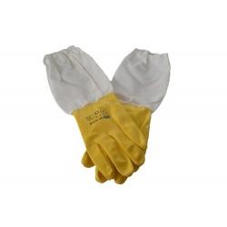 Guantes nitrilo amarillo